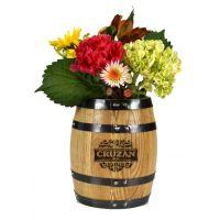 Barrel Flower Pot