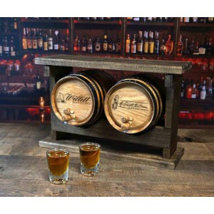 Cocktail Aging Barrel Set (2 Pack Stack)